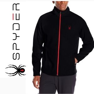 Mens Spyder Foremost Heavy Weight Jacket Black Med